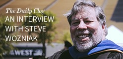 The Daily Clog: An Interview with Steve Wozniak