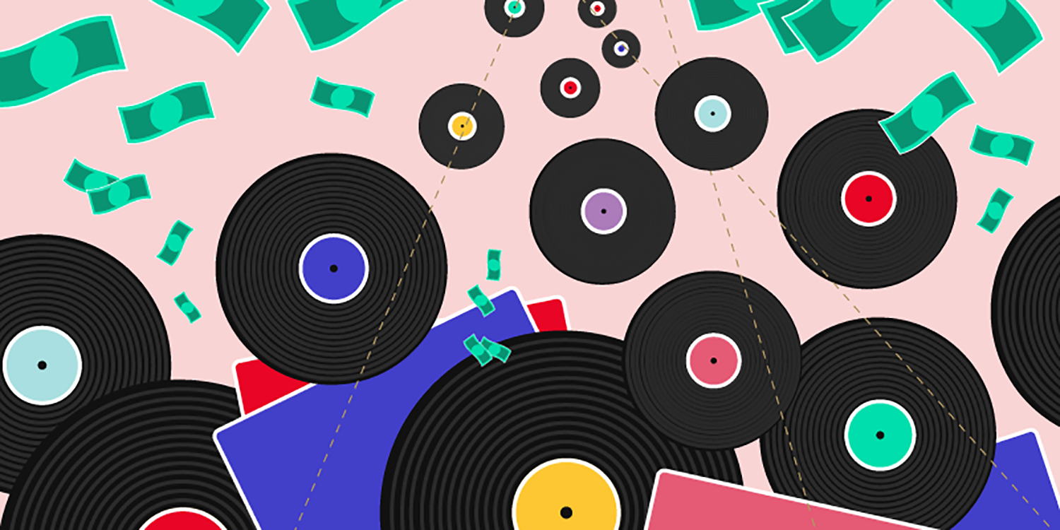 Disappearing act: As vinyl resurges, used records are vanishing